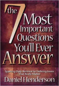 7 Most Important Questions You'll Ever Answer, The