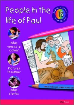 Bible Colour & Learn: People in the Life of Paul 18