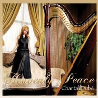 CD Heavenly Peace (Harp Christmas Music)