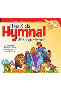 CD Kids Hymnal  3 CD Set (Split Track Recording)