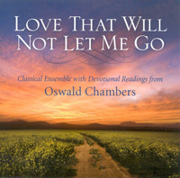 CD Love That Will Not Let Me Go Classical Ensemble with