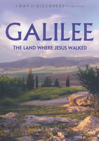 DVD Galilee The Land Where Jesus Walked
