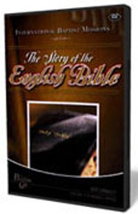 DVD The Story Of The English Bible