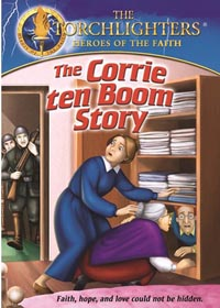 DVD Torchlighters Corrie Ten Boom Story