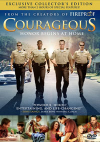 DVD Courageous Collectors Edition