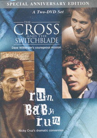 DVD Cross and the Switchblade /Run Baby Run 2 DVD set