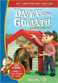 DVD Davey and Goliath Box Set Vol 1 - 12
