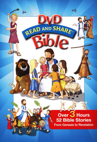 DVD Read and Share Bible Box Set (Gen - Rev)