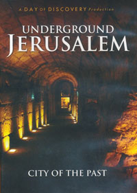 DVD Underground Jerusalem City of the Past