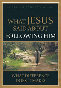 DVD What Jesus Said about Following Him