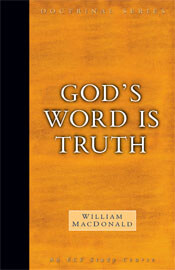 Doctrinal Series Gods Word is Truth  ECS