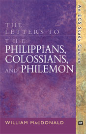 Letters to the Philippians, Colossians and Philemon  ECS