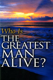 Who Is the Greatest Man Alive (booklet)  ECS