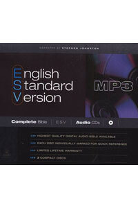Audio Bible ESV Complete Bible on MP3 CD (3 CDs)