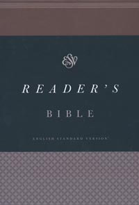 ESV Readers Bible Brown / Walnut