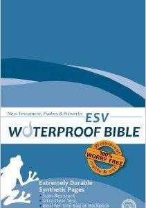 ESV Waterproof Bible New Testament Psalms & Proverbs