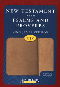 KJV New Testament with Psalms & Proverbs