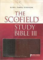KJV Scofield Study Bible III INDEXED *