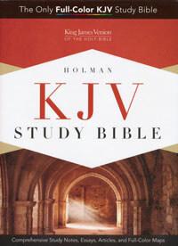 KJV Study Bible Holman HC