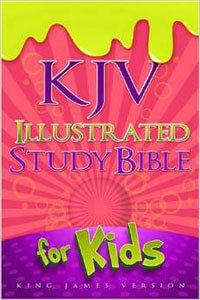 KJV Illustrated Bible For Kids pink