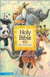 KJV Kids Study Bible Black Imitation Leather