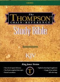 KJV Thompson Chain Reference Handy Size