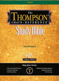 KJV Thompson Chain Reference Study Bible Large Print