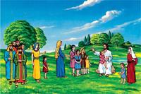 Basic 3-Year Bible Set - 6 1/2 figures #1101