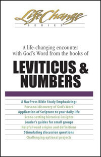 Leviticus & Numbers (Life Change Series Bible Study)