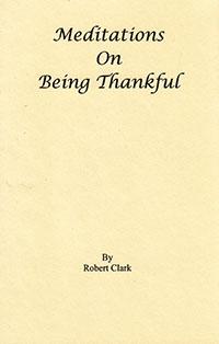 Meditations On Being Thankful  ECS