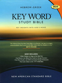 NASB Hebrew Greek Key Word Study Bible Wider Margin