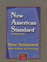 NASB New Testament with Psalms & Proverbs