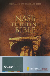 NASB Thinline Bible HC