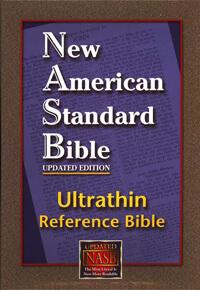 NASB Ultrathin Reference Bible