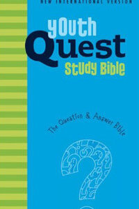 NIV Youth Quest Study Bible HC