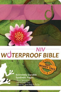 NIV Waterproof Bible Lily Pad