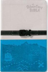 NIV Adventure Bible (revised) clip closure Gray/Blue O/P