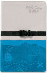 NIV Adventure Bible (revised) clip closure Gray/Blue O/P