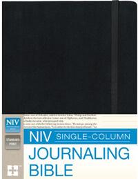NIV Journaling Single Column Bible