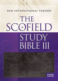 NIV Scofield Study Bible III INDEXED *