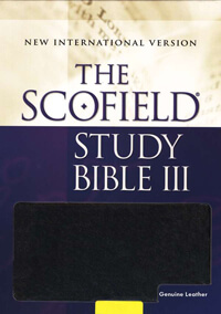 NIV Scofield Study Bible III INDEXED