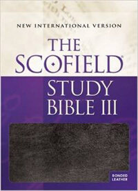 NIV Scofield Study Bible III INDEXED *O/P