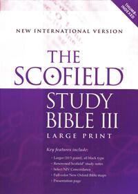 NIV Scofield Study Bible III Large Print INDEXED
