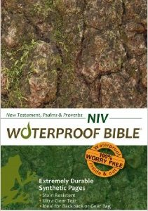 NIV Waterproof Bible New Testament, Psalms & Proverbs