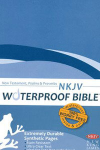 NKJV Waterproof Bible New Testament with Pslams & Proverbs