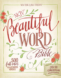 NKJV Beautiful Word Bible - Hardcover