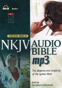 Audio Bible NKJV Audio Bible MP3: Voice Only