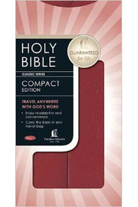 NKJV Compact Edition Snap Flap