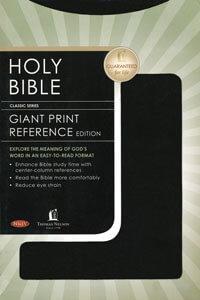 NKJV Giant Print Center-Column Reference Edition