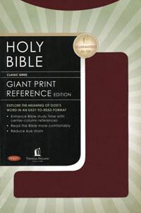 NKJV Giant Print Reference*